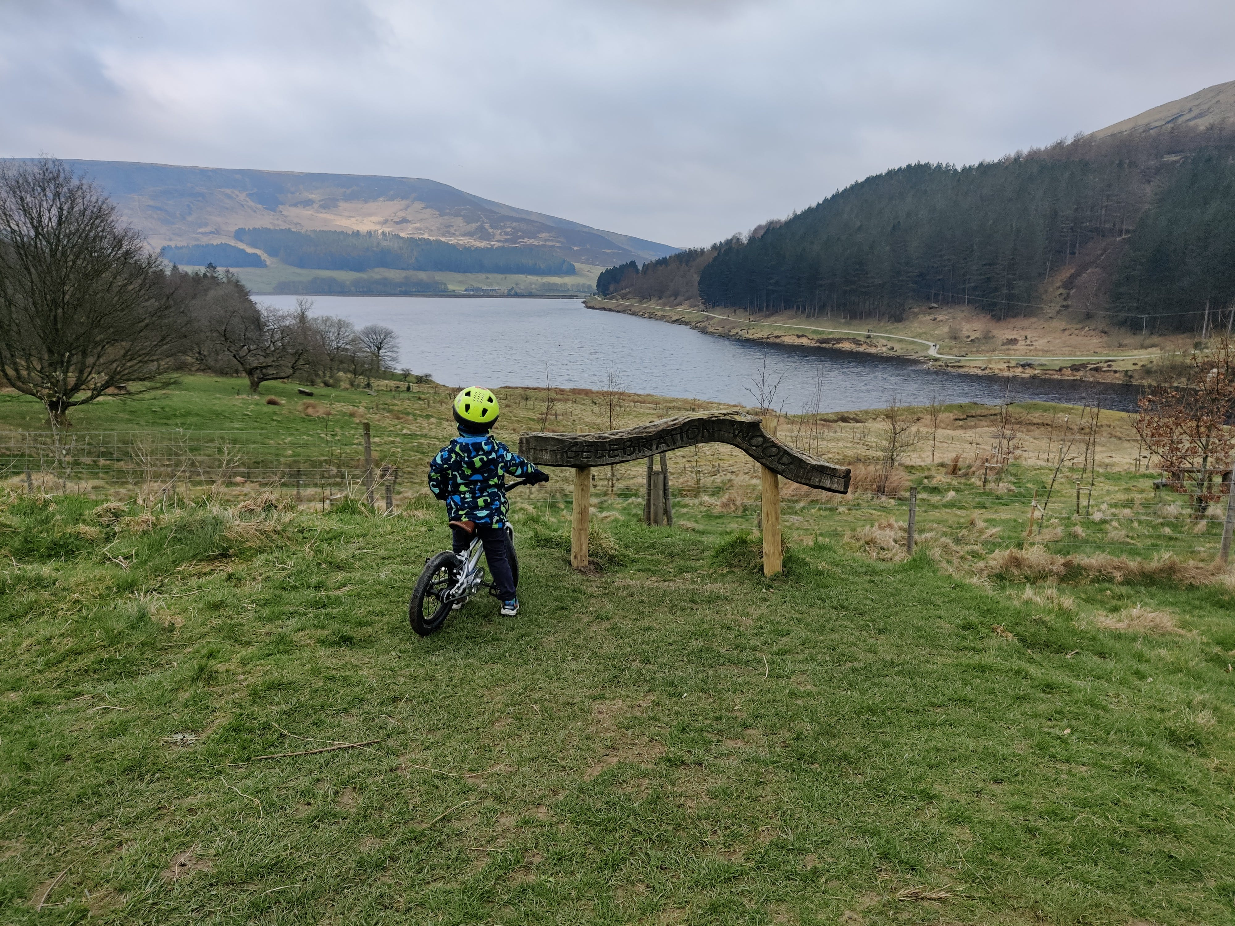 Straight into the Peak District 3 days after learning to ride