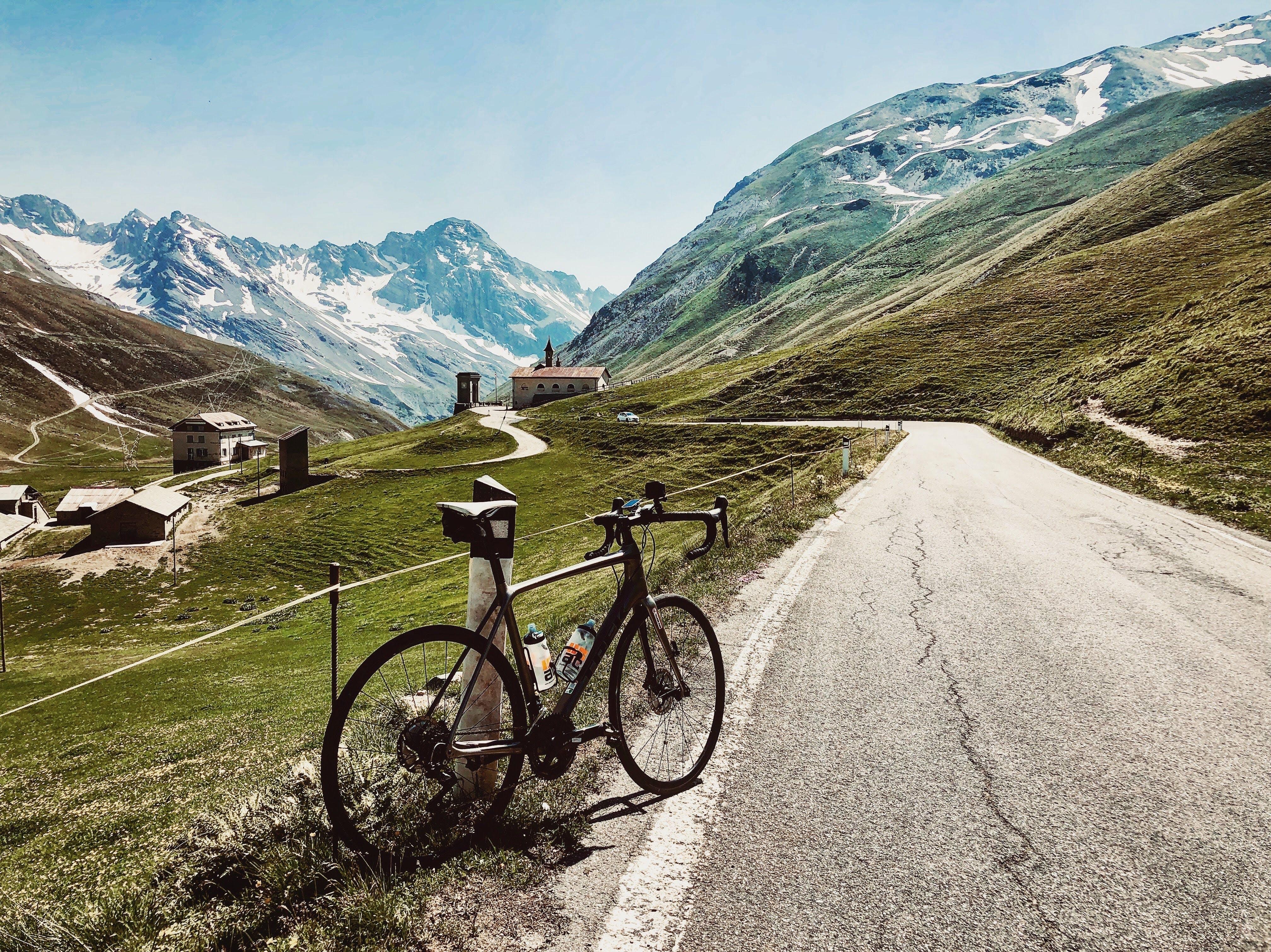 Ascent of Stelvio Pass, Italy